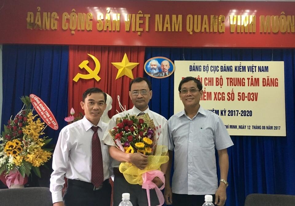 IĐại hội Chi bộ Trung tâm Đăng kiểm XCG số 5003V